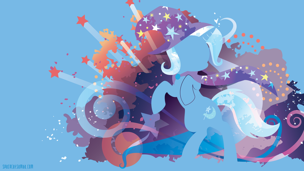 Trixie Silhouette Wall by SpaceKitty