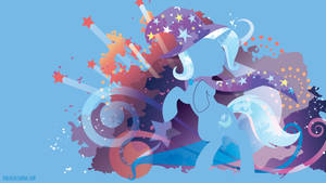Trixie Silhouette Wall