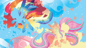 Rainbow Power: Rainbow Dash and Fluttershy