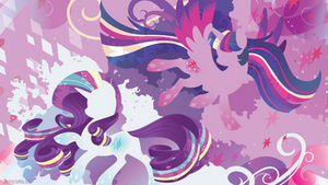 Rainbow Power: Twilight Sparkle and Rarity
