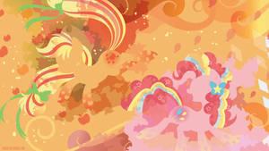 Rainbow Power: Applejack and Pinkie Pie