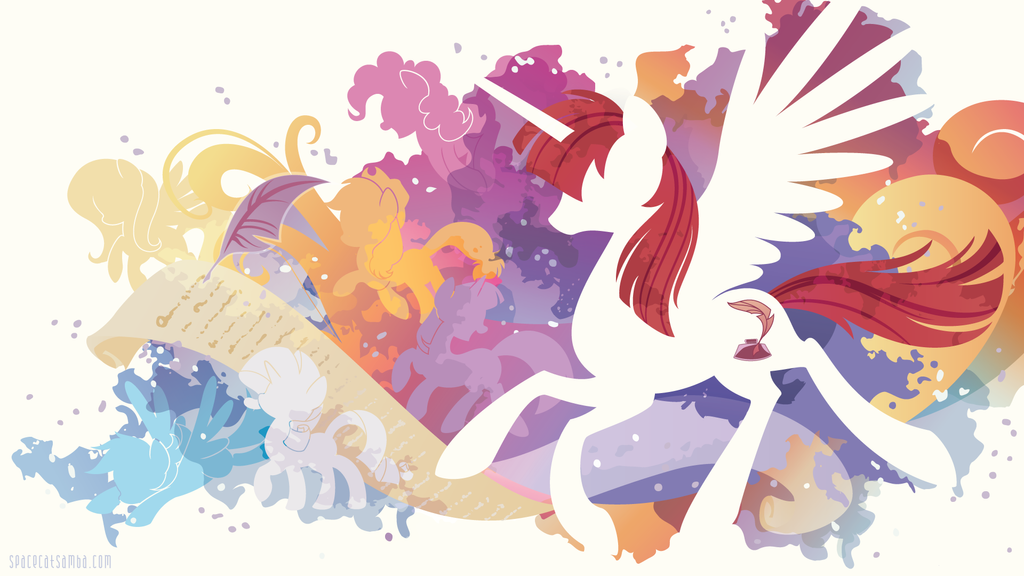 Fausticorn Silhouette Wall by SpaceKitty