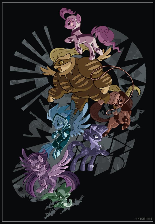 Power Ponies by SpaceKitty