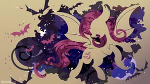 Flutterbat Silhouette Wall