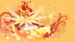 Daydream Shimmer Silhouette Wall