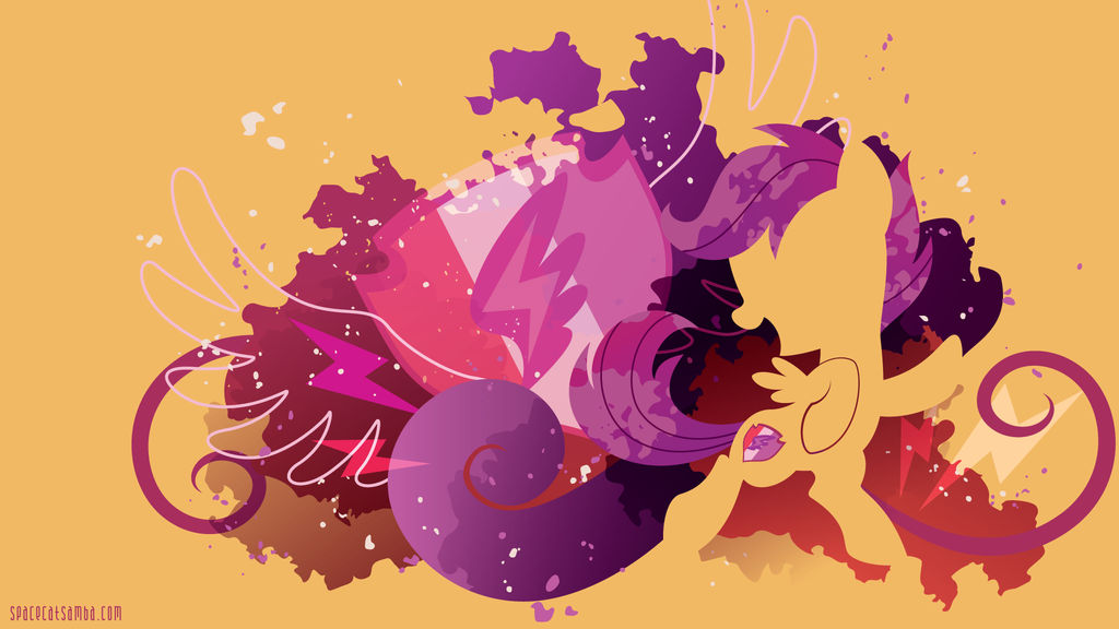 Scootaloo Cutie Marked Silhouette Wall