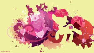 Applebloom Cutie Marked Silhouette Wall