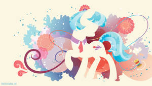 Coco Pommel Silhouette Wall