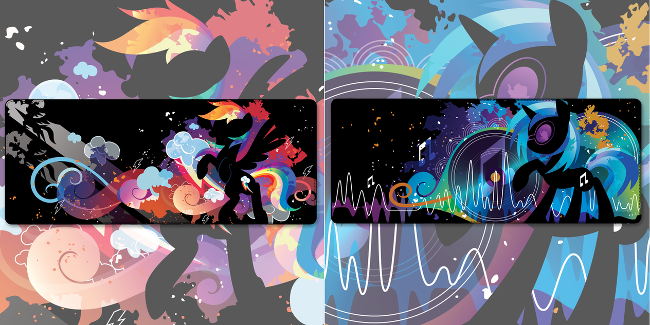 NOW AVAILABLE! Dash and Vinyl Scratch Wallets by SambaNeko