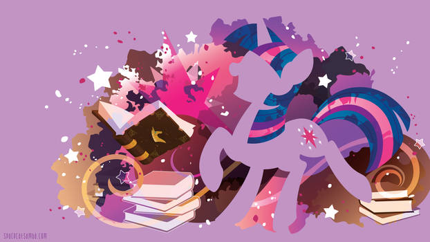 Twilight Sparkle Silhouette Wall