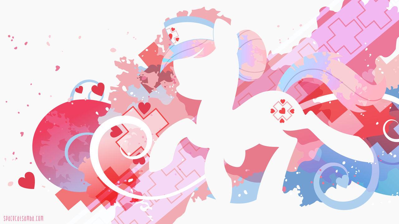 Nurse Redheart Silhouette Wall