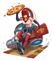 Pizza Delivery Sivir by OldLim
