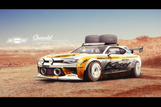 Chevrolet Camaro // Rally