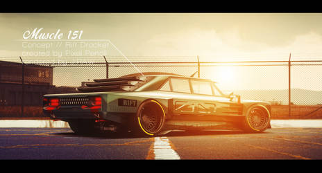 Muscle 151 Concept by Pixel Pencil