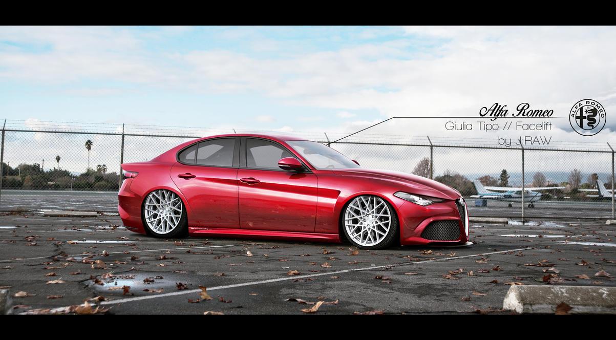 Alfa Romeo Guilia Tipo // Facelift + Dub by KlausAuto