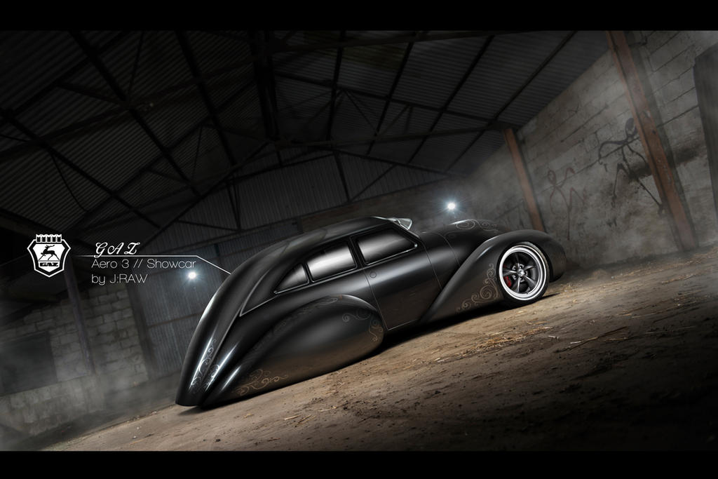 GAZ Aero 3 // Showcar by KlausAuto