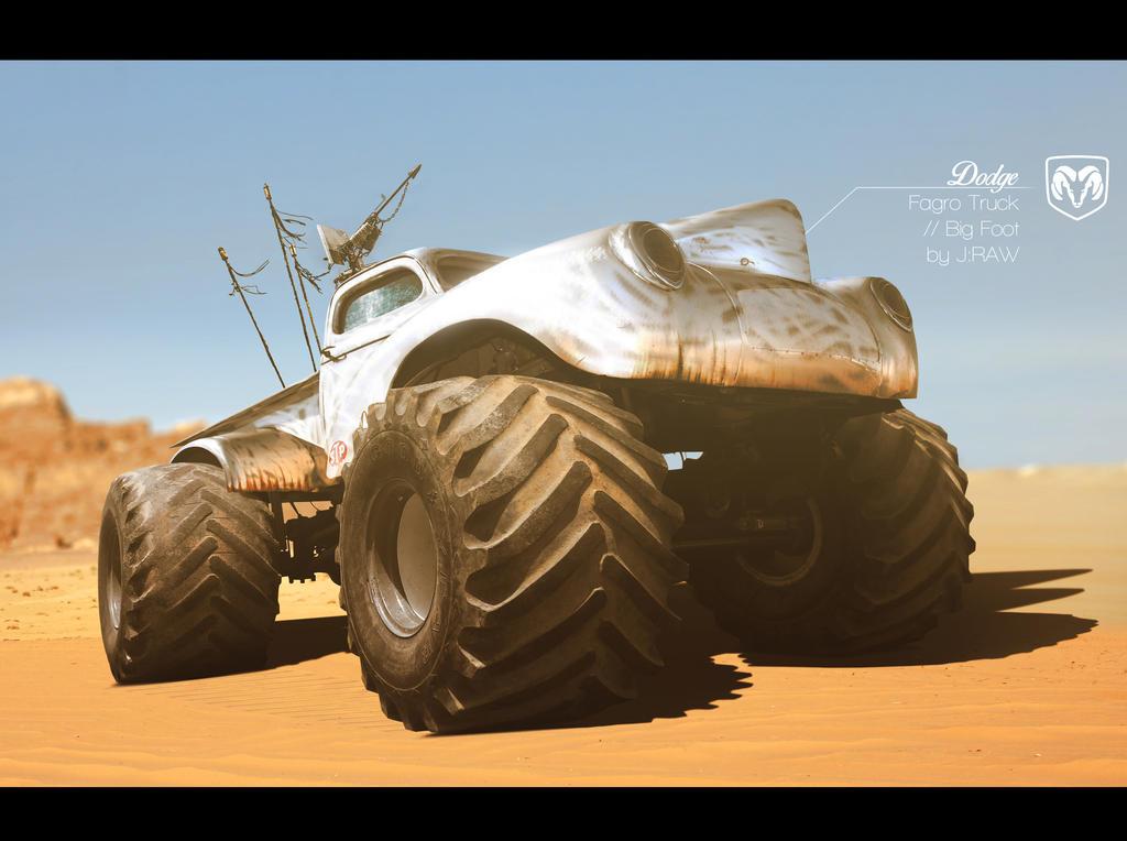 Dodge Fagro Truck // Big Foot by KlausAuto