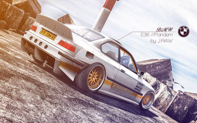BMW E36 // Pandem