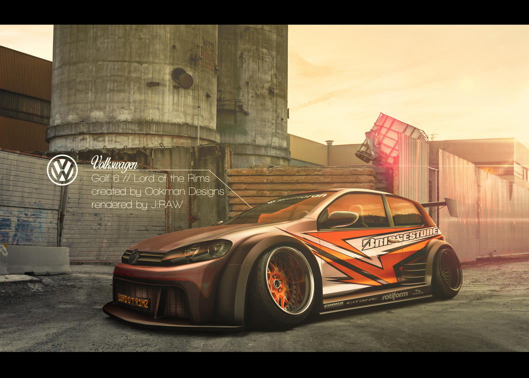 Golf 6 // Lord of the Rims by Oak-Design by KlausAuto