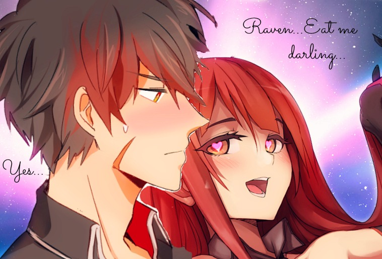 Elesis x Raven by Orihiime-Inoue