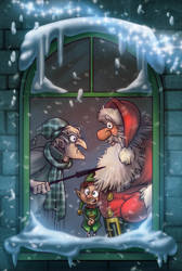 Christmas Story cover by Sabinerich