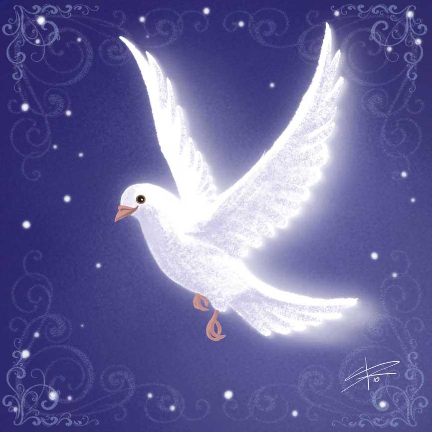 Christmas Dove New Calendar Template Site