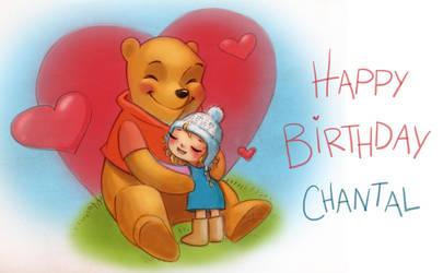 Happy Birthday Chantal by Sabinerich