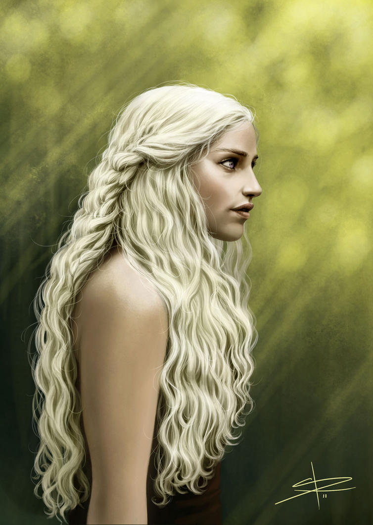 Daenerys Targaryen by Sabinerich