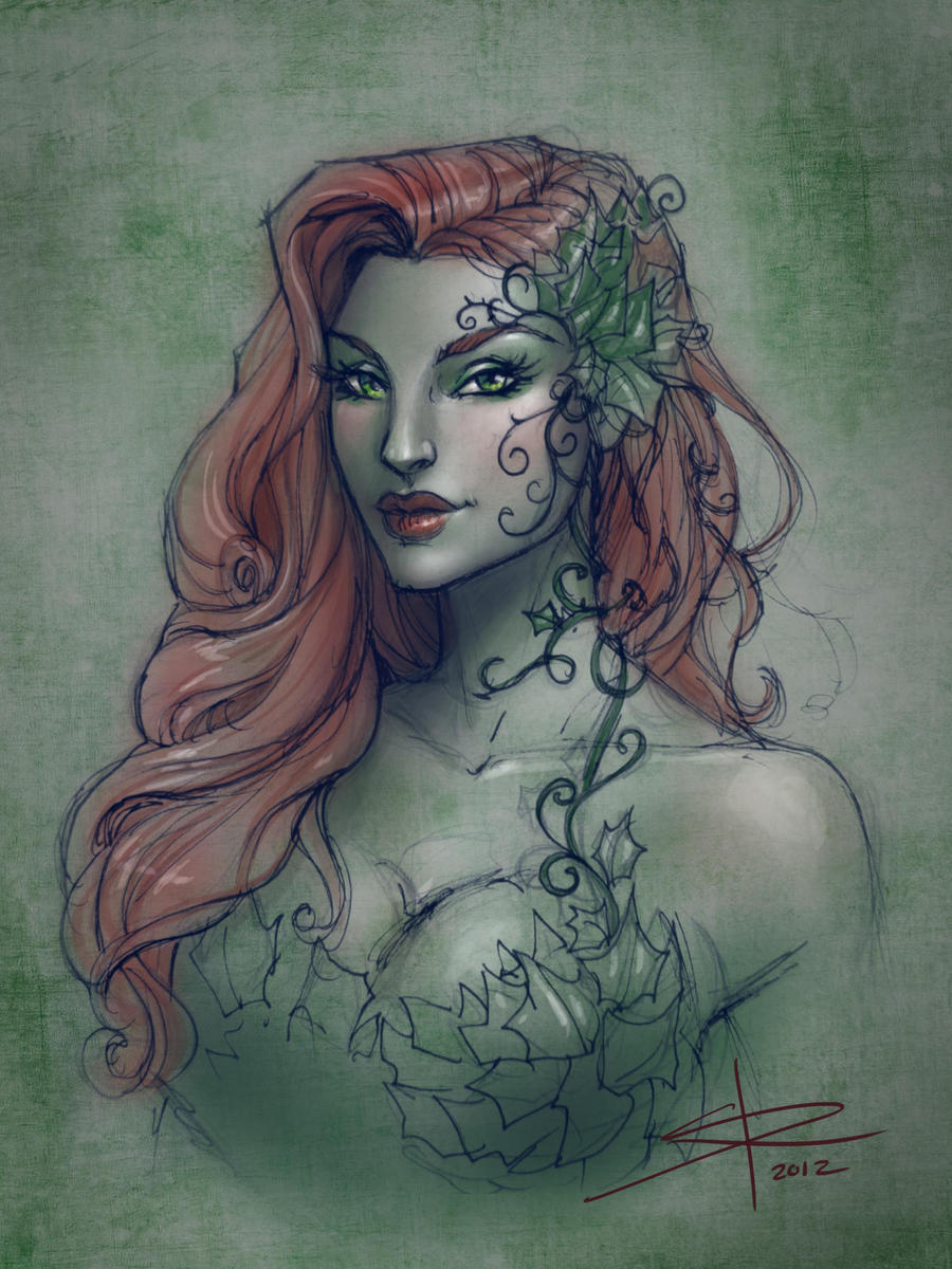 Poison Ivy sketch by Sabinerich