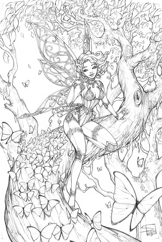 free gothic fairy coloring pages - pin goth fairy coloring page tablynn pictures on pinterest