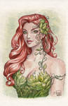 Poison Ivy Watercolor