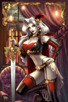 Steampunk Lady Death cover