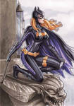 Batgirl copic commission