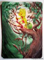 Treecko Card by Rayquazanera