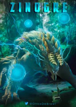 Zinogre Monster Hunter Illustration