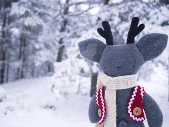 Rudolf the rag-reindeer