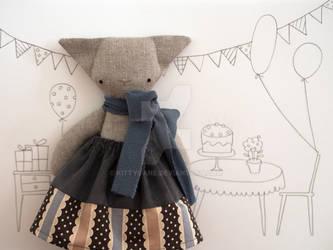 Catherine the little rag-cat
