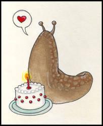 Slimy birthday wishes by kittyvane