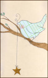 Paper bird by kittyvane