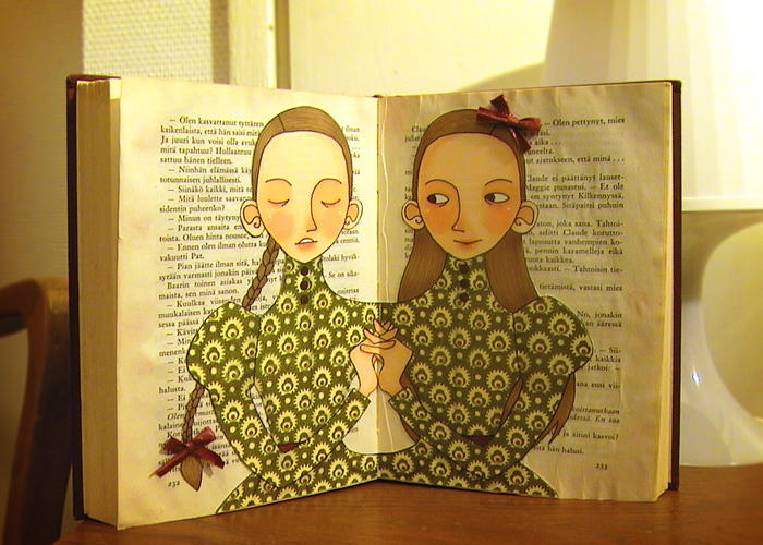 The Bookbinder's Daughters by kittyvane