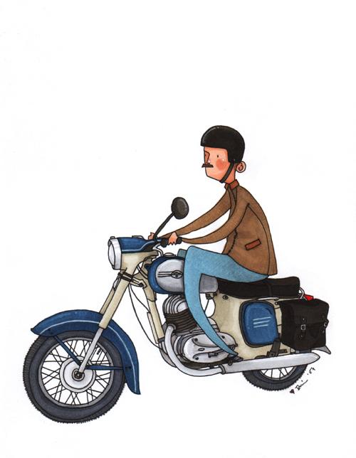 Kitty's dad is a biker by kittyvane