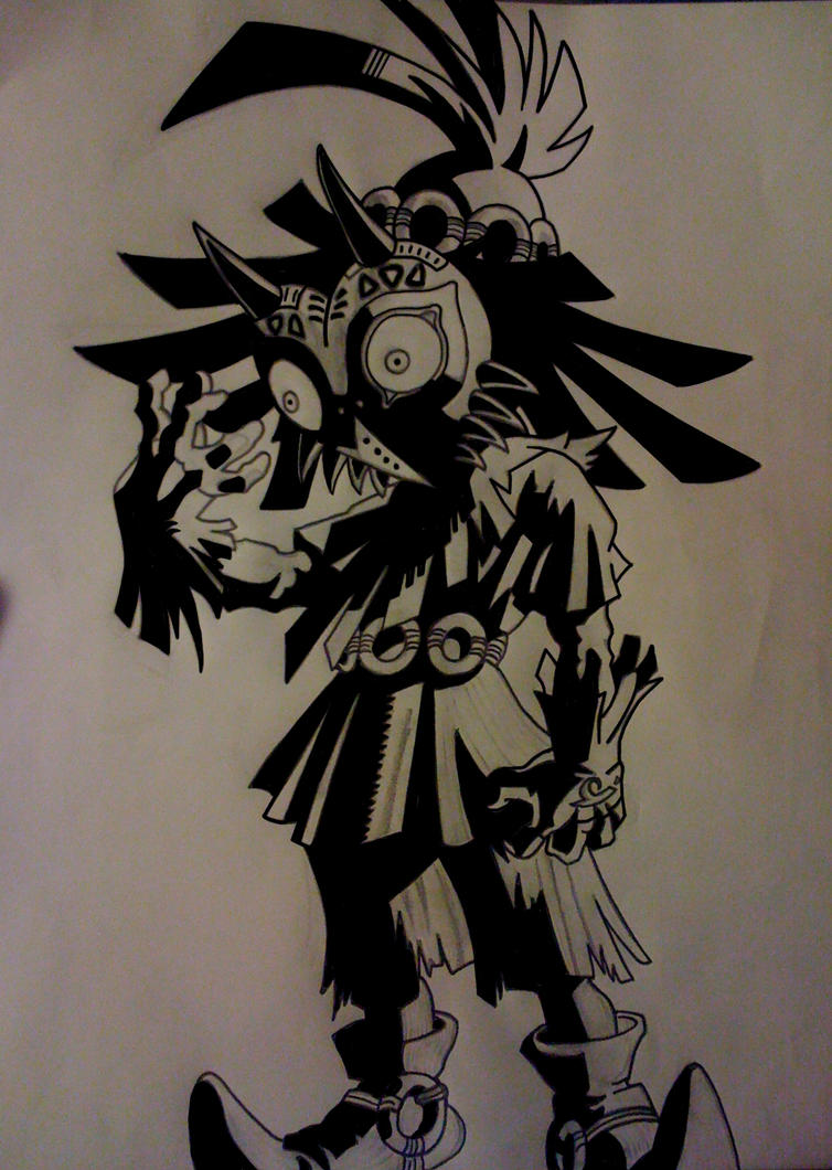 Skull Kid By Kevbot117