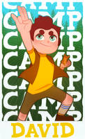 Camp Camp: DAVID !! by IShot-U