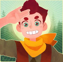 Camp Camp: DAVID ! by IShot-U