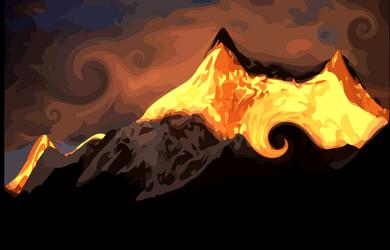 Himalaya - Vector by AryaInk