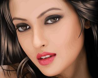 RiyaSen Vector by AryaInk