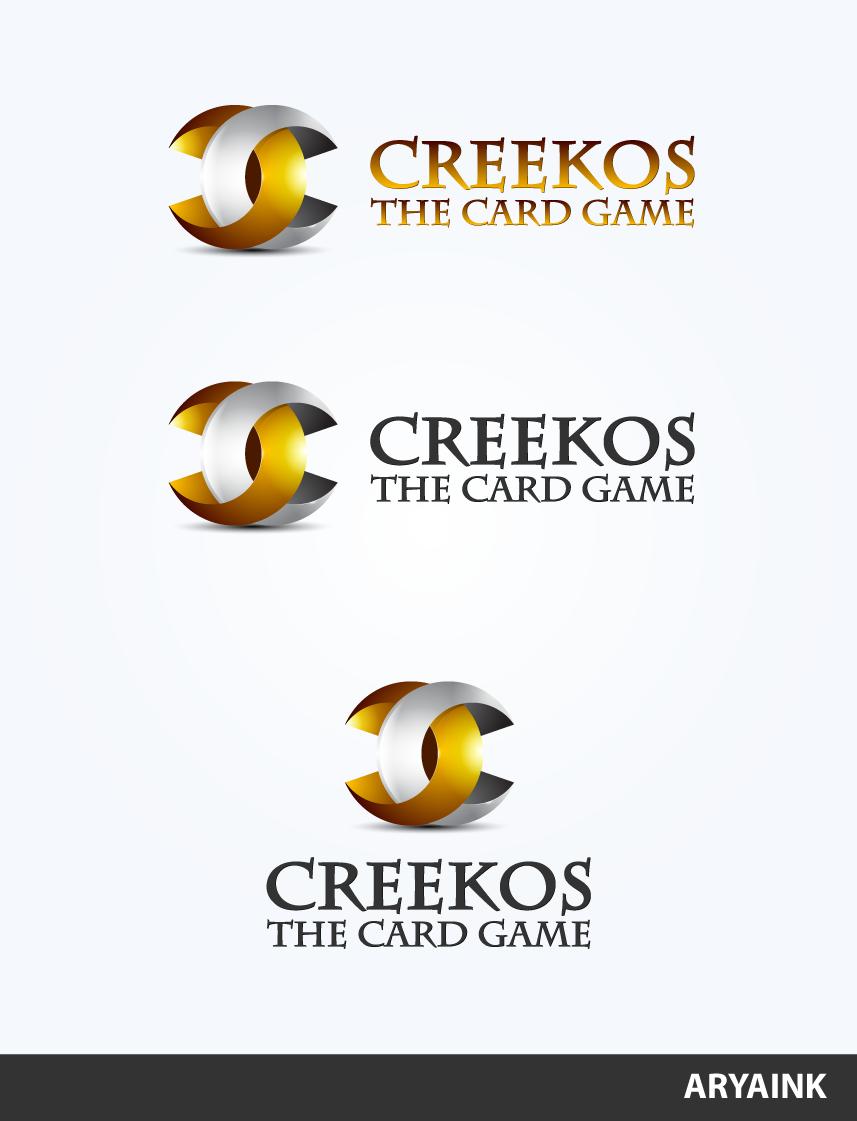 Logo 75 - Creekos Card Game by AryaInk