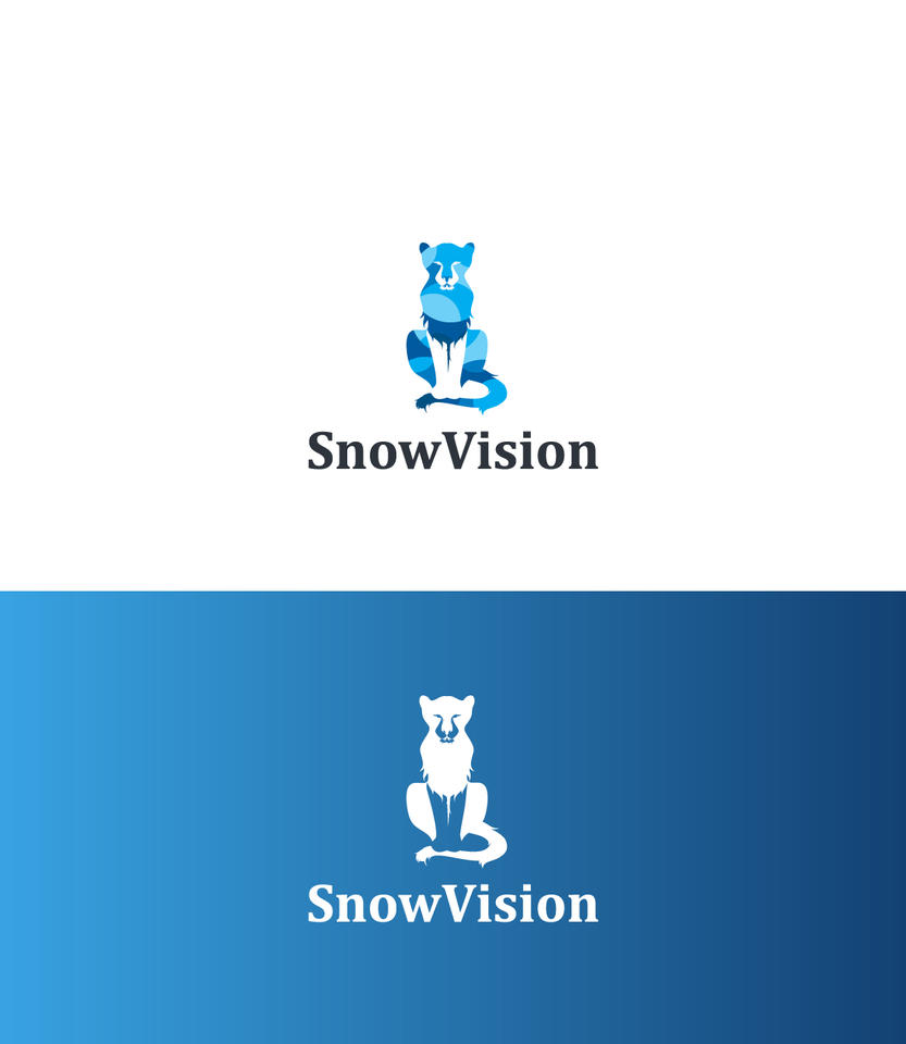 Snow Vision Logo by AryaInk