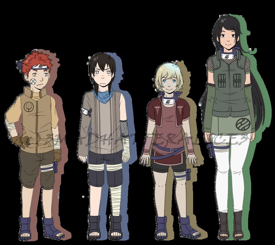 NARUTO team 3 by arger on DeviantArt