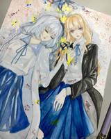 Rain girl  by misakikuro06
